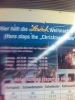 Vienna Christmas Tram