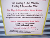 Bad English on Vienna's Metro